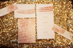 watercolor wedding stationery by Chelsea Barrett 2015 Wedding Trends, Wedding 2015, Our Wedding, Dream Wedding, Fall Wedding, Wedding Decor, Rustic Wedding, Wedding Stationery Inspiration, Wedding Stationary