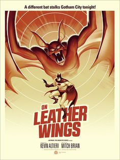 On Leather Wings by Phantom City Creative