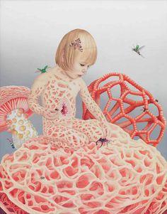 Les peintures surréalistes de Tiffany Bozic