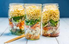 DIY ramen noodle soup