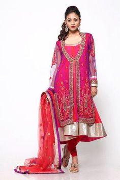 Diwali Fashion Trends! | Red Paisleys Diwali Fashion, Bollywood Fashion, Indian Fashion, Anarkali, Lehenga, Purple Jacket, Vintage Trends, Bridal Fashion, Womens Fashion