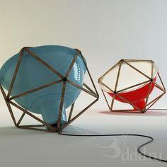 PROFI Black2 Lamp 3dsMax 2009 и ниже (Vray) : Floor lamp : 3dSky - 3d models