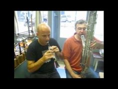 The Extremely Low and Very Rare Octocontralto Clarinet and the Extrememly High Piccolo A-flat Clarinet: Dance of the Sugar Plum Fairy by Tchaikovsky - Performed by Mercatier and Benjamin Masciotta on YouTube