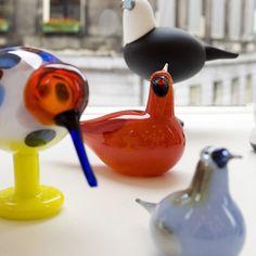 """""""Iittala"""" Glass Birds by Oiva Toikka"""