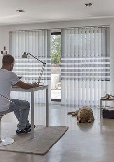 Clic para Cerrar Living Room Designs, Living Room Decor, Kitchen Blinds, Kitchen Cabinets Decor, Curtains With Blinds, Decoration, Modern Interior, Window Treatments, Ramen
