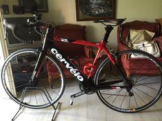 Το νέο ποδήλατο του Γιάννη. Cervelo S2