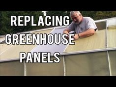 I am replacing more panels on my harbor freight greenhouse. I plan on building a glass greenhouse next year so I am on ly replacing the ones that are necessa. Greenhouse Panels, Best Greenhouse, Greenhouse Growing, Greenhouse Ideas, Harbor Freight Greenhouse, Vertical Vegetable Gardens, Cold Frame, Window Sill, Outdoor Gardens