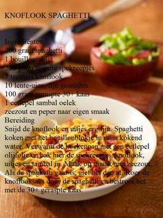 Knoflook Spaghetti Grill Pan, Pasta, Grilling, Yummy Food, Om, Healthy Recipes, Griddle Pan, Delicious Food, Crickets