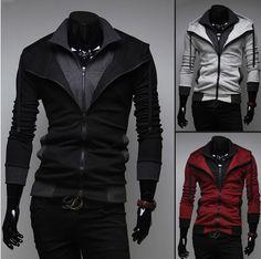 Fashion Sport Jacket Veste Sport, Capuche Zippé, Pull, Mode Homme, Tenues À c820db409eb5