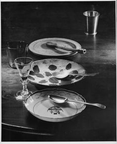 Plates and Spoons, Andre Kertesz, Winterthur
