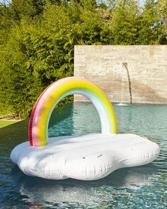 x x 300 LB Weight Limit, Funboy Rainbow Cloud Daybed Pool Float Float Pool, Cool Pool Floats, Swimming Pool House, Swimming Pools, Summer Pool, Summer Fun, Pink Summer, Summer Ideas, Summer Time