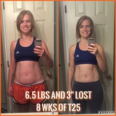 T-25 Focus workout results are in!  I love, love, love this program.