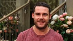 There's a fine line between love and hate.and Aaron may have crossed it when it comes to Robert. Danny Miller reveals all. Emmerdale Actors, Danny Miller, Robert Ryan, Secret Relationship, How I Feel, Eye Candy, Handsome, Celebrities, Men