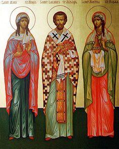 Martha, Mary and Lazarus of Bethany
