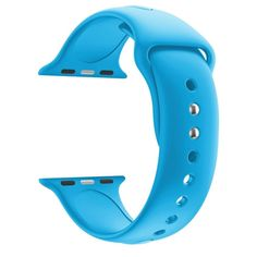 b0547e7221d Replacement Watch Strap Soft Silicone Band 38mm 42mm Wrist Sport iWatch  Series 1 2 3 Wristband