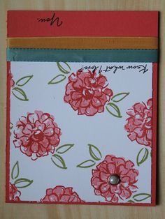 Mothers Day Card by CreateByCait on Etsy