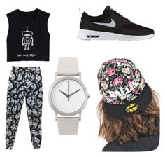 """""""for dance like it """" by kellypbb ❤ liked on Polyvore featuring NIKE, Alex and Chloe and Normal Timepieces"""