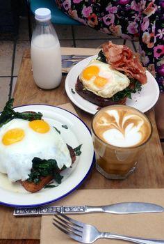 Sqirl Kitchen in Los Angeles, CA Toast sandwiches, long line, best restaurant