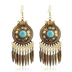 Egyptian Tassel Bohemian Drop Earring