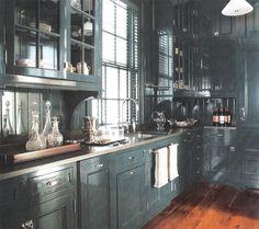 Butler's Pantry - home in upstate New York, Miles Redd Interior Design. Image Elle Decor