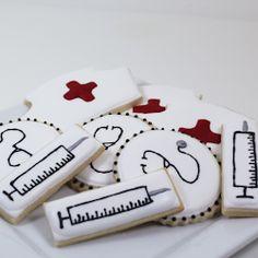 Nurse cookies for my sister's birthday