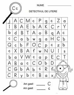 Letter Detectives Worksheets Aa to Zz