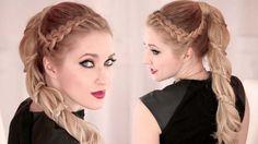 Spiral braid tutorial ★ High ponytail hairstyle for long hair ★ Carousel Ponytail Hairstyles Tutorial, High Ponytail Hairstyles, Classic Hairstyles, Loose Hairstyles, Trendy Hairstyles, Braided Ponytail, Ladies Hairstyles, Medium Hair Styles, Curly Hair Styles