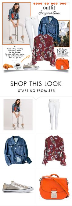 """""""Look of the day: Outfit Inspiration"""" by annabu ❤ liked on Polyvore featuring H&M, Chicwish, Converse, Louis Vuitton and ADAM"""