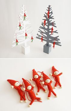 고깔요정들의 파티~! #오너먼트 #크리스마스 #장식 #데코 #Ornament #christmas #decoration