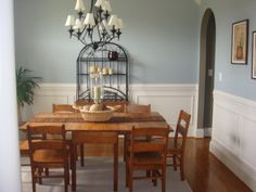 Incridible Dining Room Paint Ideas 2 Colors