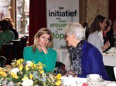 Prinses Máxima bij het Vrouwelijk TOP Talent Ontbijt - Het Koninklijk Huis