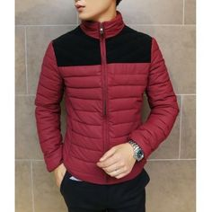 Clothes Type: Down & Parkas  Material: Cotton, Polyester  Collar: Mandarin Collar  Clothing Length: Regular  Style: Fashion  Weight: 1.3KG  Sleeve Length: Long Sleeves  Season: Winter  Package Contents: 1 x Coat  SizeBustLengthShoulder WidthSleeve Length L10764.546.563.5 XL11...
