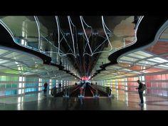 Colorful - Chicago, Illinois  Copyright: gabriel mendez  Inside O'Hare International Airport hallways.   http://www.trekearth.com/gallery/North_America/United_States/photo1342234.htm#