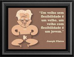 Duas ilustrações de Joseph Pilates para inspirar e decorar seu estúdio de Pilates.  Para baixar gratuitamente esse material visite o nosso site.