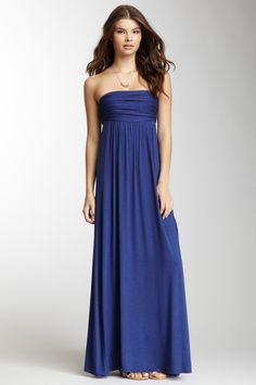 Ruched Maxi Skirt/Dress