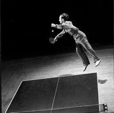 ping pong, 1942.