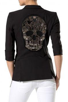 'Sparkling Skull' blazer ~ Philipp Plein