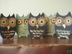 More owl crafts