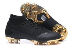 pretty nice 10eba aec0a Lightest Nike Mercurial Superfly VI 360 Elite FG Soccer Cleats - Black Gold