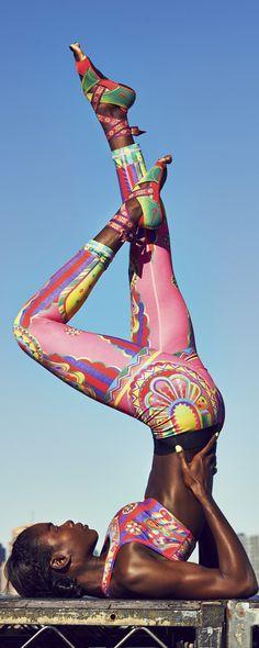 Fun and flexible. #Nike #LimitedEdition #StudioWrap #trainng #TightoftheMoment