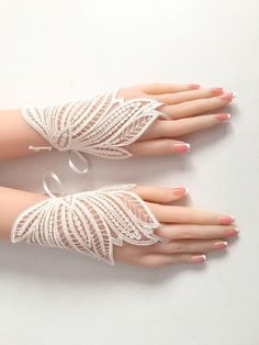 wedding lace gloves, bridal gold ıvory gloves, vintage gloves, bridesmaid gloves, bridal accessories – Famous Last Words Hand Jewelry, Fabric Jewelry, Diy Lace Gloves, Hand Gloves, Lace Weddings, Wedding Lace, Bridal Sandals, Wedding Gloves, Vintage Gloves
