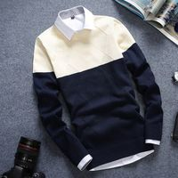 Autumn o-neck sweater male sweater slim all-match teenage top sweater male Male Sweaters, Men Sweater, Unique Fashion, Mens Fashion, Online Shopping For Women, Sweater Outfits, Fashion Brand, Cool Style, Sportswear