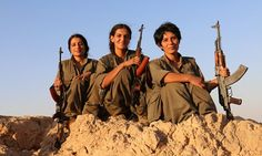 This is revenge for the Yazidi girls': How three brave female fighters killed 10 ISIS jihadis a day on the frontline in Iraq