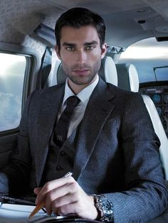Lionel Clerc for Christian Grey