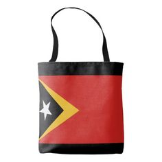Flag of East Timor Tote Bag