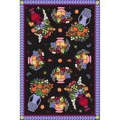 New Bouquet Tufted Rug from Susan Sargent