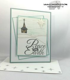 Stamps-N-Lingers.  Be Jolly, By Golly.  Swirly Scribbles.  Fancy Frost DSP. https://stampsnlingers.com/2016/09/06/stampin-up-be-jolly-by-golly-peace-on-earth/
