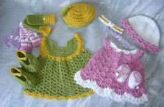 Baby items to crochet