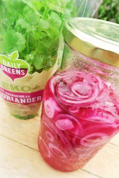 Sockerfri picklad rödlök | Fixa formen