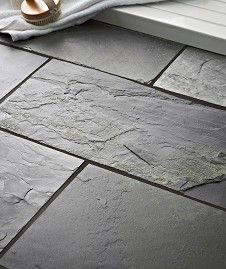 Rustic Black Slate Uncalibrated (30x60cm)